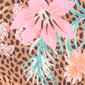 Evy Leopard print triangle bikini