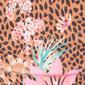 Ale 21 Leopard print triangle bikini