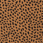 Eva Leopard print triangle bikini