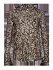 Trish Leopard print thermal top
