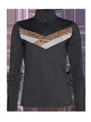 Zaza Leopard print mid layer
