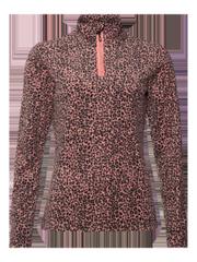 Mutah Leopard print fleece jumper
