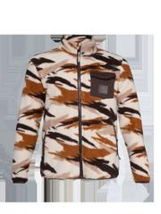 Barati Camo fleece jacket