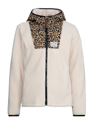 Penny jr Leopard print fleece jacket
