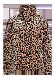 Wendy jr Leopard print fleece jacket