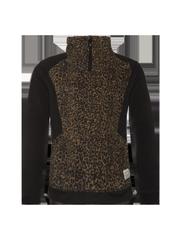 Cariece jr Leopard print fleece jumper
