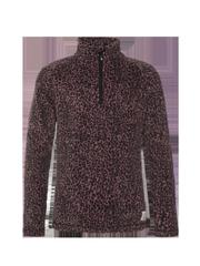 Missys jr Leopard print fleece jumper