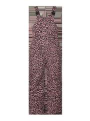 Deeze td Leopard print dungaree