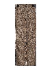 Angle 20 Softshell leopard print ski trousers