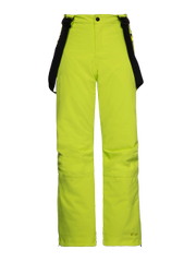 Spike jr Neon ski trousers with suspenders