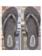 Stampy 20 Flip flops