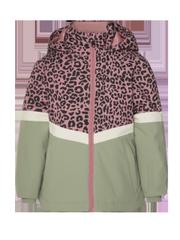Marjorel td Leopard print winter sports jacket