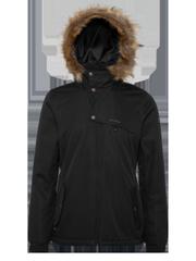Peaceful Faux fur ski jacket