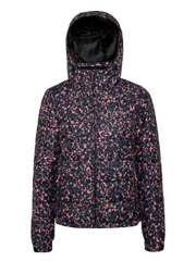 Dante Leopard print ski jacket