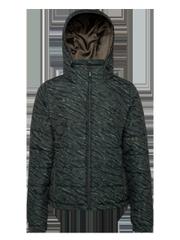 Dante Zebra print ski jacket
