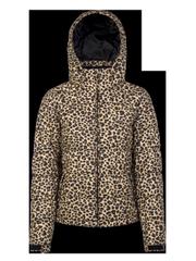 Revet Leopard print ski jacket