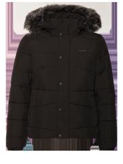 Boxy Faux fur ski jacket