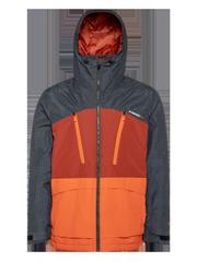 Buston Colour block ski jacket