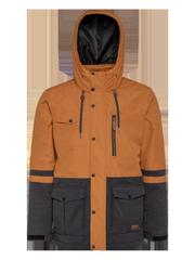 Worton Colour block ski jacket