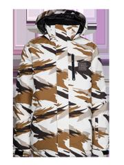 Ozzy jr Camo ski jacket