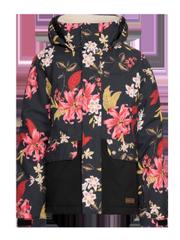 Dance jr Floral ski jacket