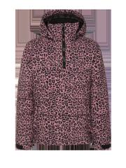 Cloudye jr Leopard print anorak ski jacket