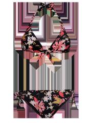 Sienna Floral halter neck bikini