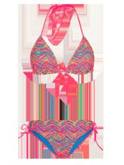 Idyllic Neon Triangel-Bikini