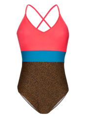 Octopus Online Only Low back swimsuit