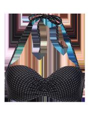 Mm mighty ccup Bandeau bikini top