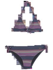 Blue 18-2 jr Triangle bikini