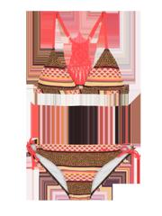 Tove jr Leopard print triangle bikini