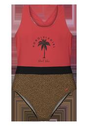 Jacey jr Leopard print swimsuit