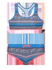 Zenja jr Hipster halter neck bikini