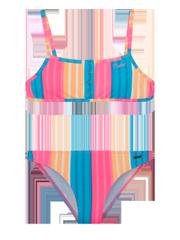 Peggy jr Neon halter neck bikini